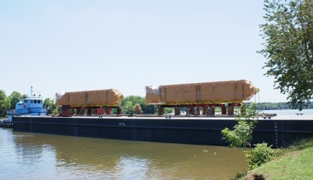 Transport par barge