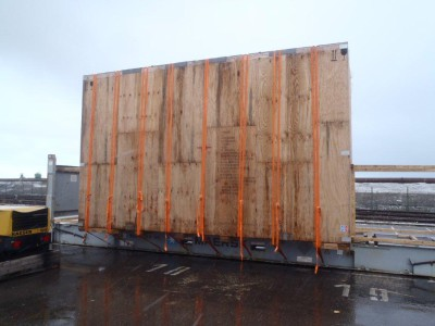 container hors gabarit