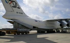 Expédition par avion charter de 2 conteneurs (Pointe Noire)