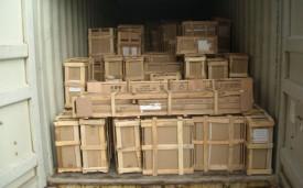 Empotage de conteneurs