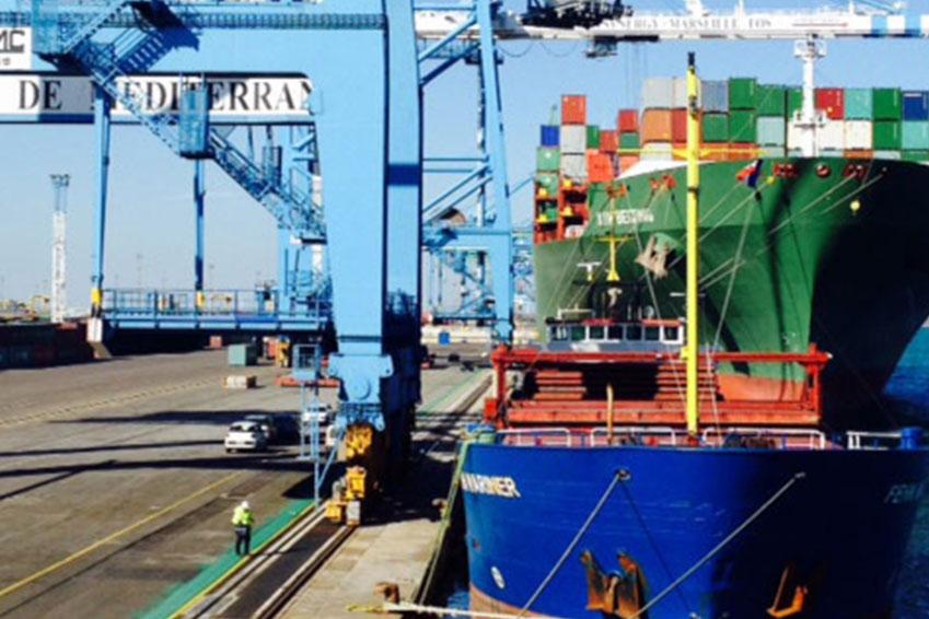 transport de marchandises maritime