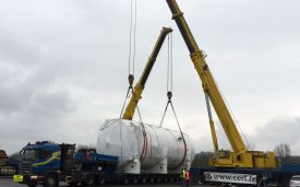 Autoclave transport to Civrieux d