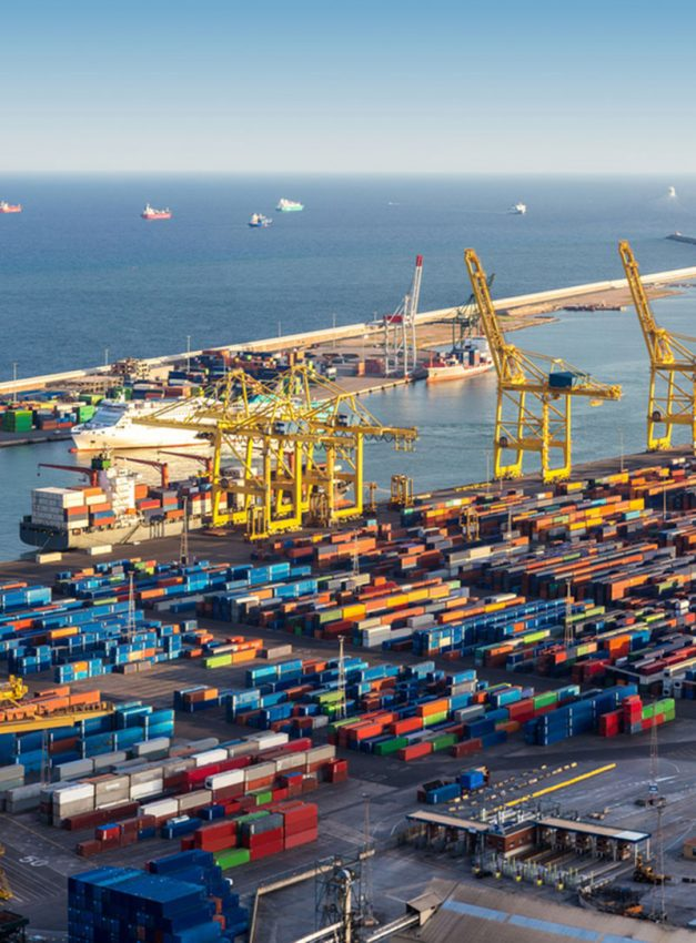 Transport maritime de conteneur