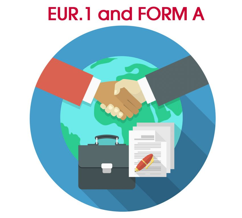 The end of the EUR.1 and FORM A certificates