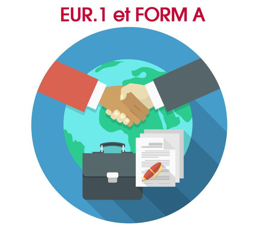 L'attestation d'origine remplacment EUR1 et Form 1