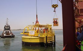 Transport of a CALM Buoy with accessories to Alexandria
