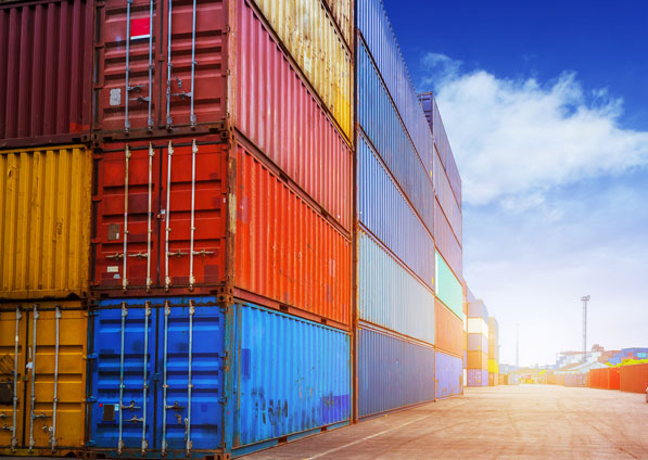 Containers maritime
