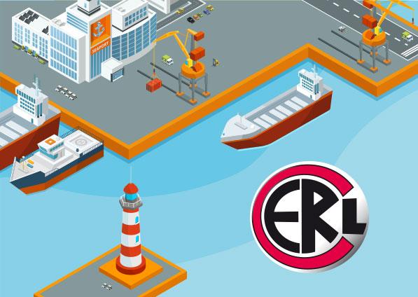 Le transport de container avec CERL