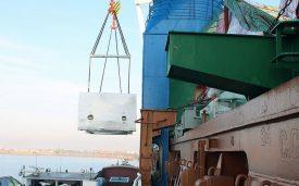 Transport d'une presse et d'une caisse de Lyon à FOS
