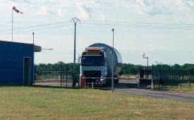 Transport exceptionnel : franchissement de la barrière
