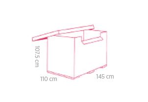 Conteneur Carton GMC