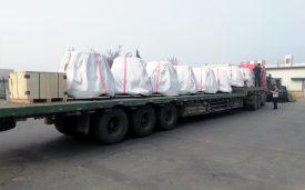 Transport aérien de huit colis de la Chine vers la Seine-Maritime