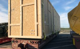 Transport of six crates from France to Egypt via Antwerp