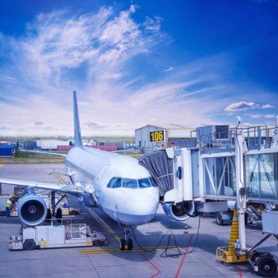 Transport de container aérien