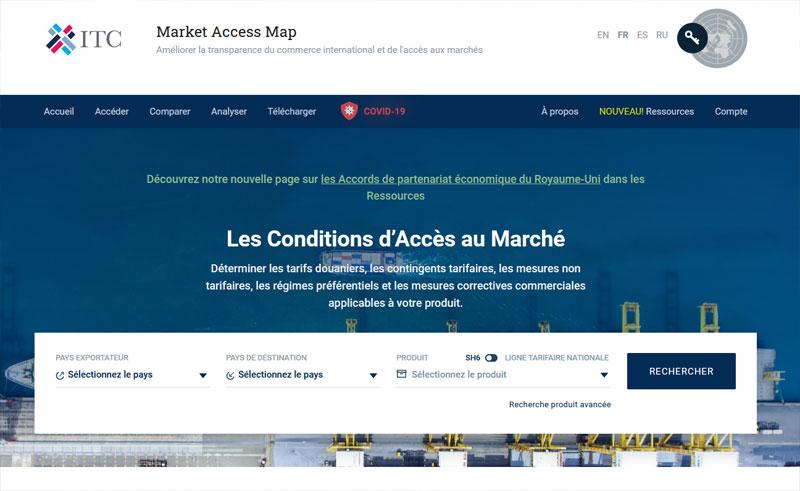 Market Access Map