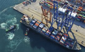 Secteur containers maritime
